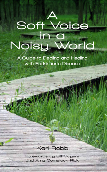 A Soft Voice In A Noisy World Book makes Healthline.com's List of Books That Shine A Light on Parkinsons!