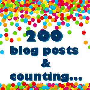 200 blog posts and counting