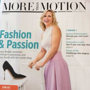 Tonya Walker on the cover of More Than Motion!