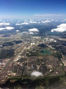 Sky view!